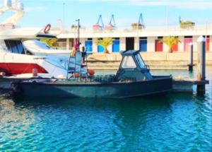 La historia del barco militar Fairay Allday, NÁUTICA SPINNAKER