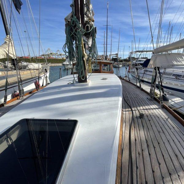 barco de madera clásico
