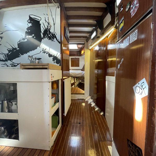 Barco clasico valencia